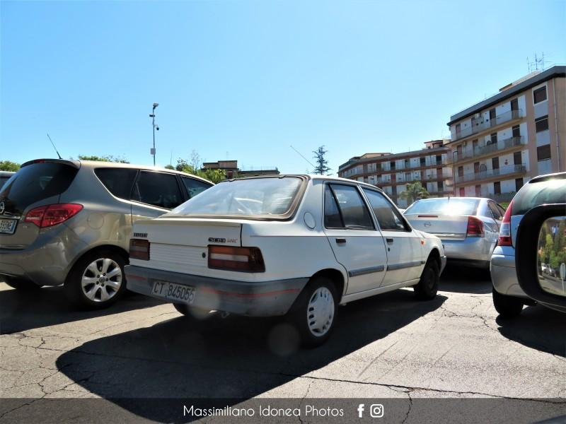 avvistamenti auto storiche - Pagina 30 Peugeot-309-Look-1-1-54cv-88-CT845055-75-079-15-10-2018
