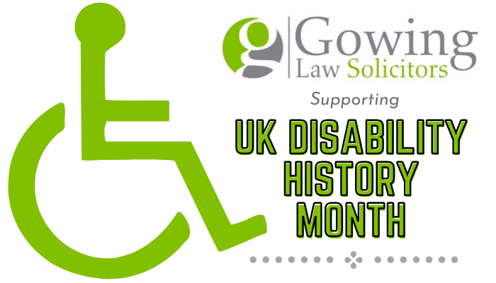 UK Disability History Month Header