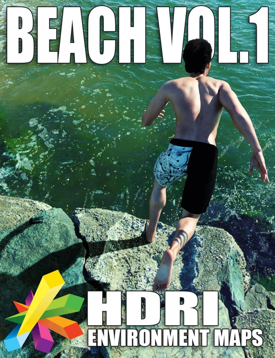 MEC4D HDRI Beach Vol. 1 - Super Megapack