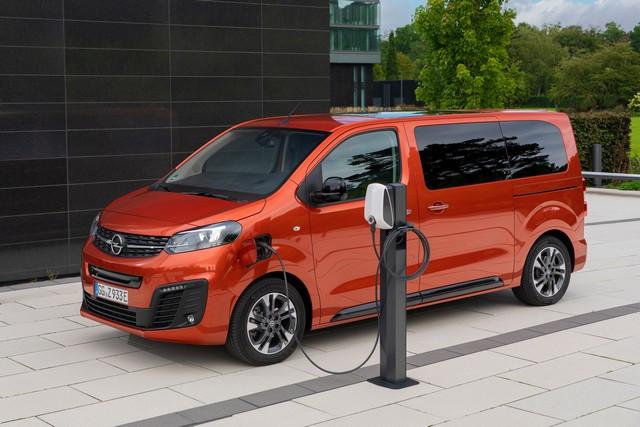 De l'électricité dans l'air : l'Opel Zafira-e Life tout électrique en vente à partir de 51 500 euros bonus environnemental déduit Opel-Zafira-e-512834