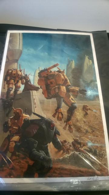 Galerie Daniel Maghen [originaux Warhammer Battle & 40K] 1