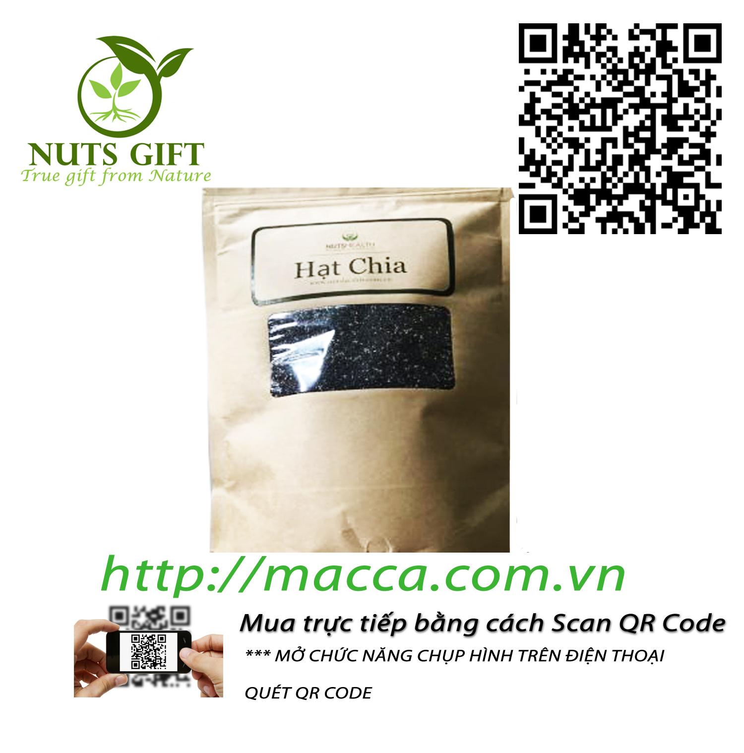 Hạt Chia – Nutshealth – 1kg