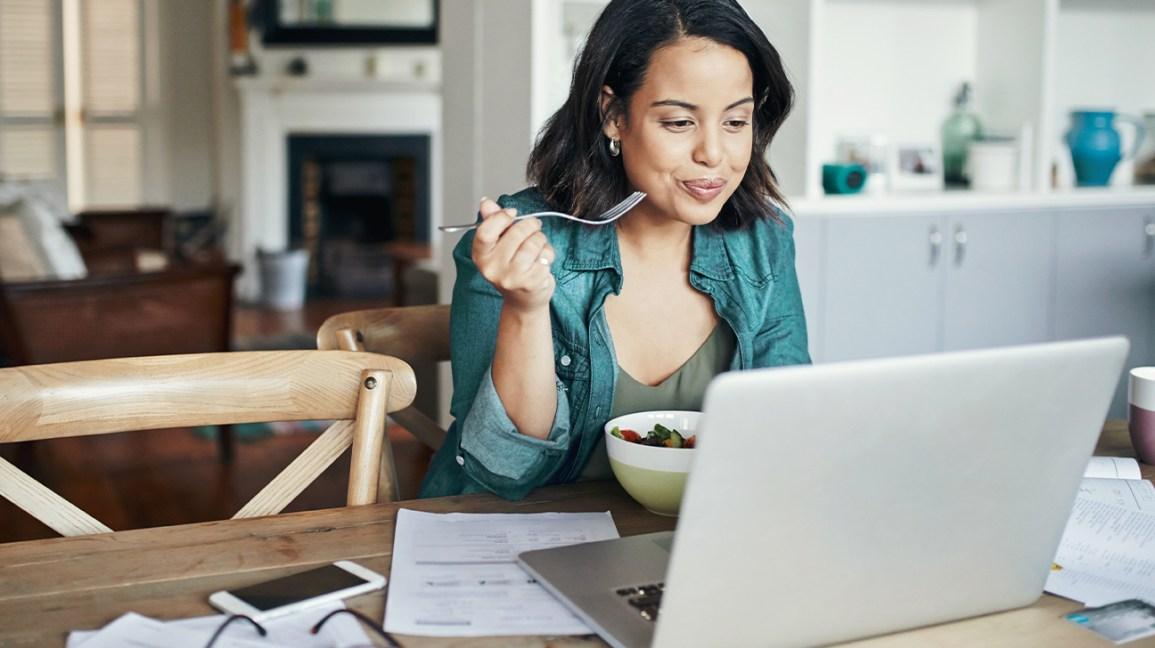Smart working: come scegliere l'alimentazione