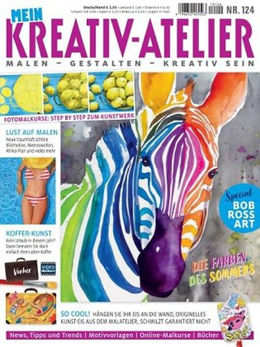 Cover: Mein Kreativ Atelier Magazin No 124 2021