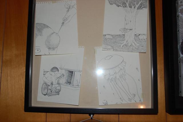 Blu sketches