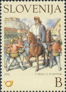 Slovenia stamps CHILDERN-BOOK-ILUSTRATION-1