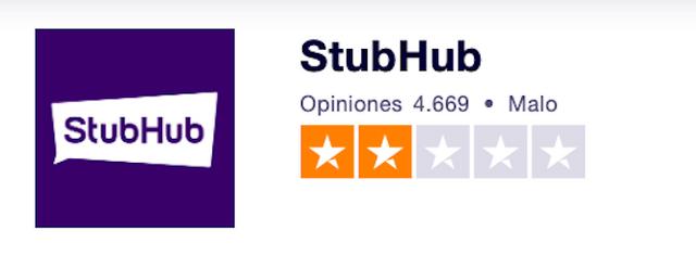 vender entradas en stubhub