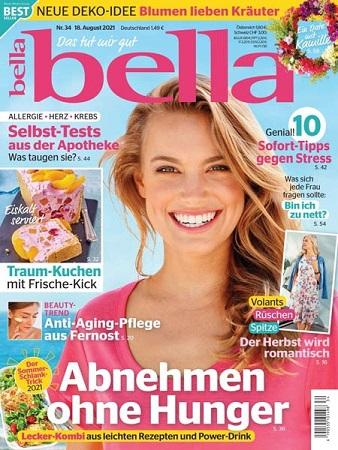 Cover: Bella Frauenmagazin No 34 vom 18  August 2021