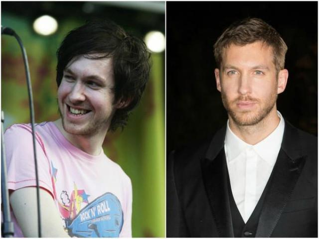 Calvin Harris antes y ahora