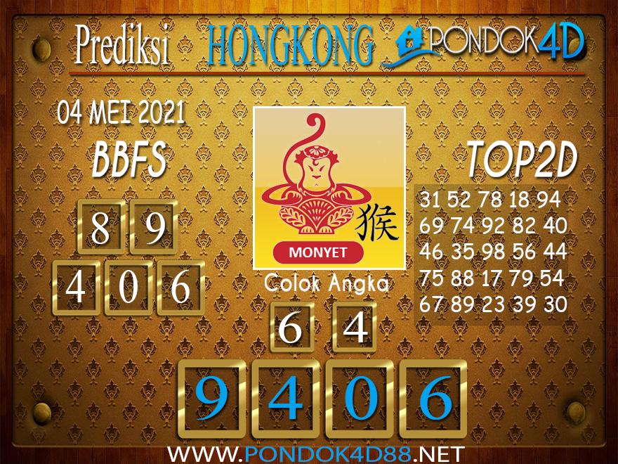 Prediksi Togel HONGKONG PONDOK4D 04 MEI 2021