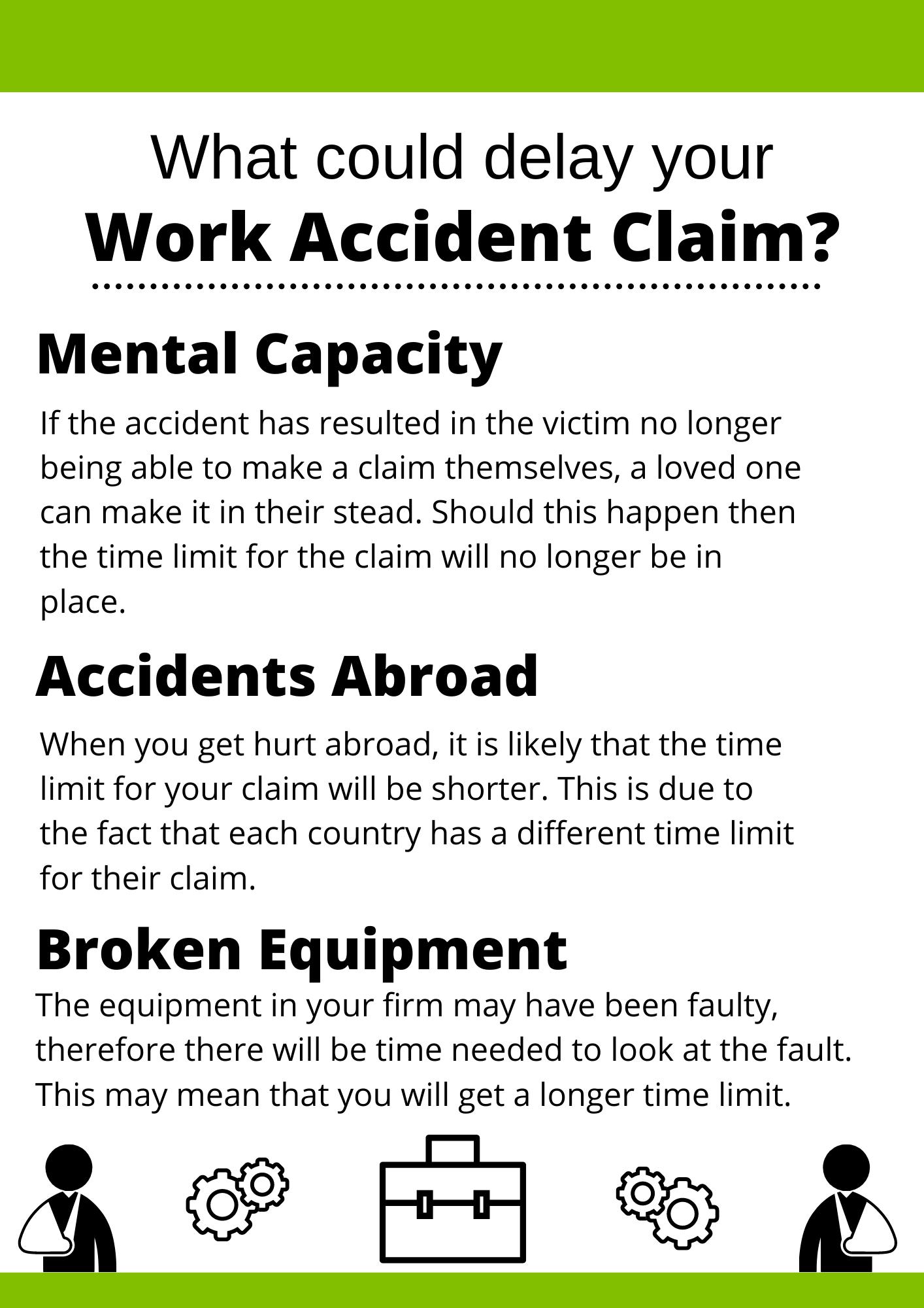Work Accident Claim Delays