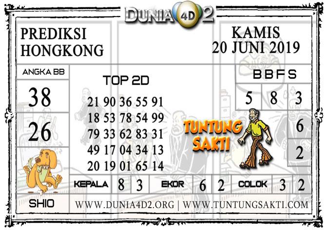"""Prediksi Togel """"HONGKONG"""" DUNIA4D2 20 JUNI 2019"""