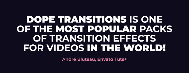 Dope Transitions | For Premiere Pro - 1