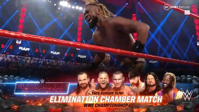 Kofi Kingston participa en Elimination Chamber RAW 15 Feb