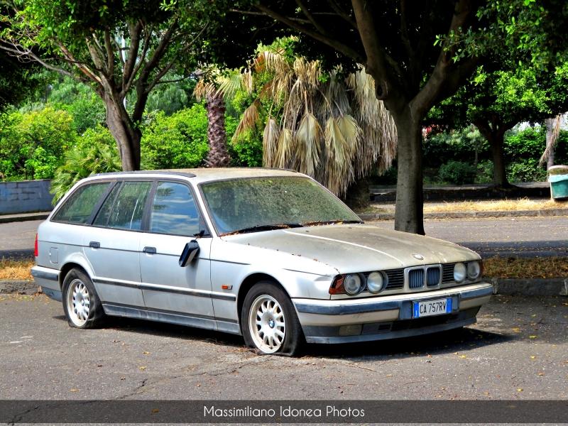 Auto Abbandonate - Pagina 19 Bmw-E34-Touring-525-tds-2-5-143cv-CA757-RV-1