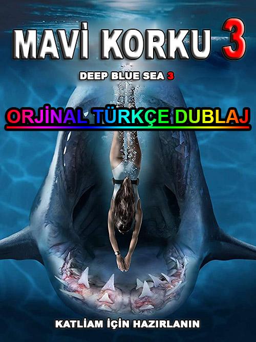 Mavi Korku 3 | Deep Blue Sea 3 | 2020 | BDRip | XviD | Türkçe Dublaj | m720p - m1080p | BluRay | Dual | TR-EN | Tek Link