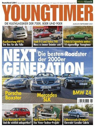 Cover: Motor Klassik Youngtimer Magazin No 06 August-September 2021