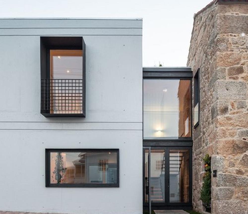 desain rumah urban housing