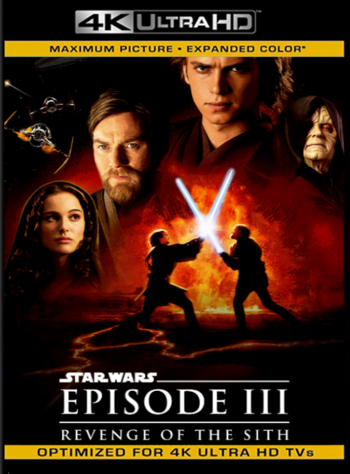 Star Wars: Episodio 3: La Venganza de los Sith (2005) REMASTERED BDRip [2160p 4K] Latino [GoogleDrive] [zgnrips]