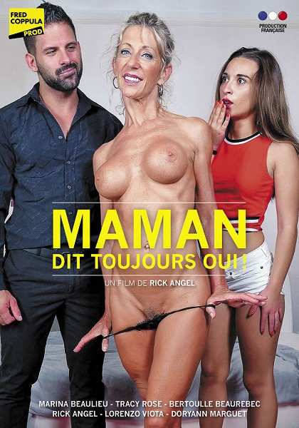Maman dit toujours oui / Мама всегда говорит да (Rick Angel, Fred Coppula Prod) [2018 г., MILF, Mature, Anal, Ebony, All Sex, WEBRip 540p]