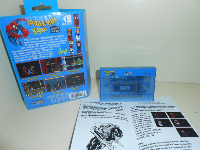 Spider-Man / X-Men: Arcade's Revenge Master System Complet 100% neuf   DSCN1747