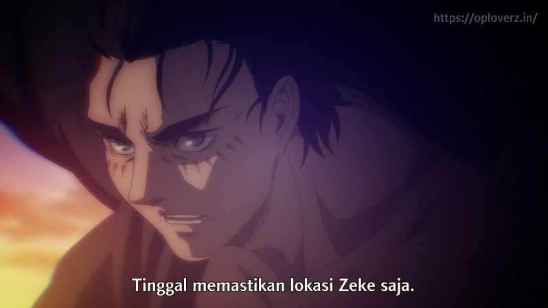 Shingeki no Kyojin Season 4 Episode 12 Subtitle Indonesia
