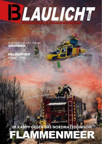 Cover: Blaulicht Magazin für Brandschutz & Feuerwehrtechnik No 09 2021