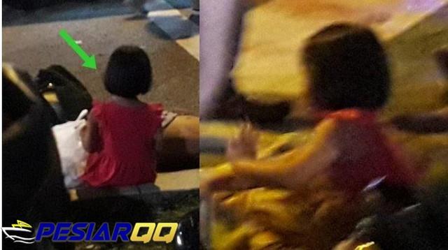 Viral Foto Gadis Kecil Menangis Sambil Memanggil Ibu yang Meninggal Kecelakaan, 'Mommy, Mommy