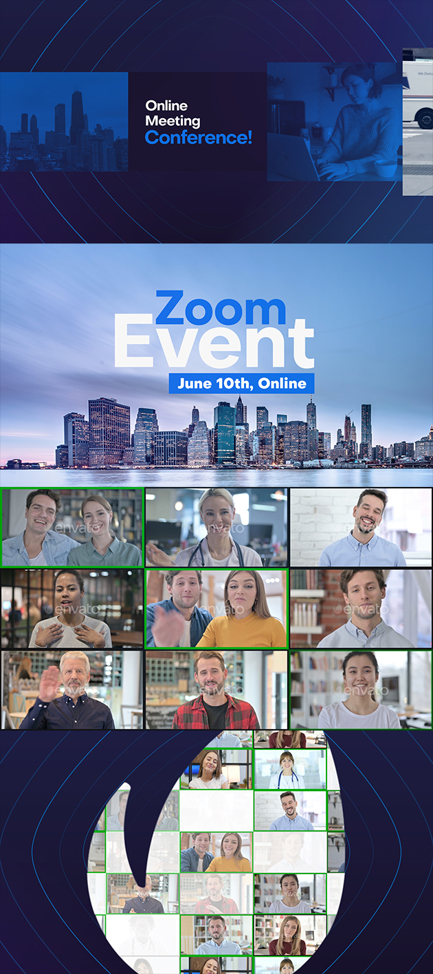 Video Conference Online Zoom Meeting - 4