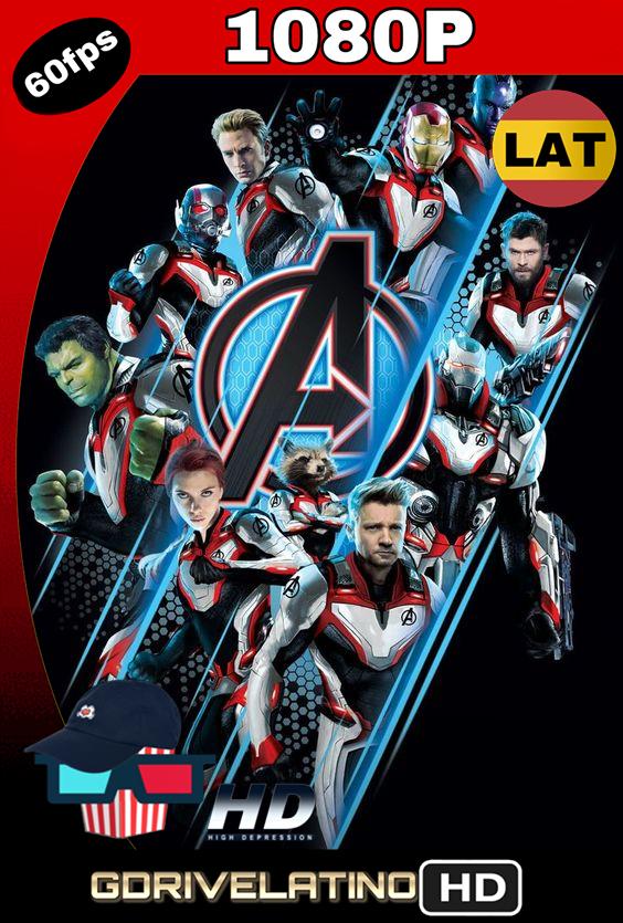 Avengers: Endgame (2019) BDRip 1080p Latino-Inglés MKV