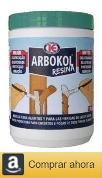 Resina cicatrizante para injertos y heridas de poda Arbokol