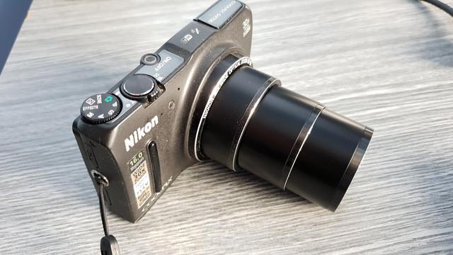 P: Nikon COOLPIX S9700 black