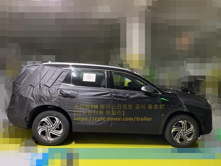 Hyundai Santa Fe Restyling (2020) 13