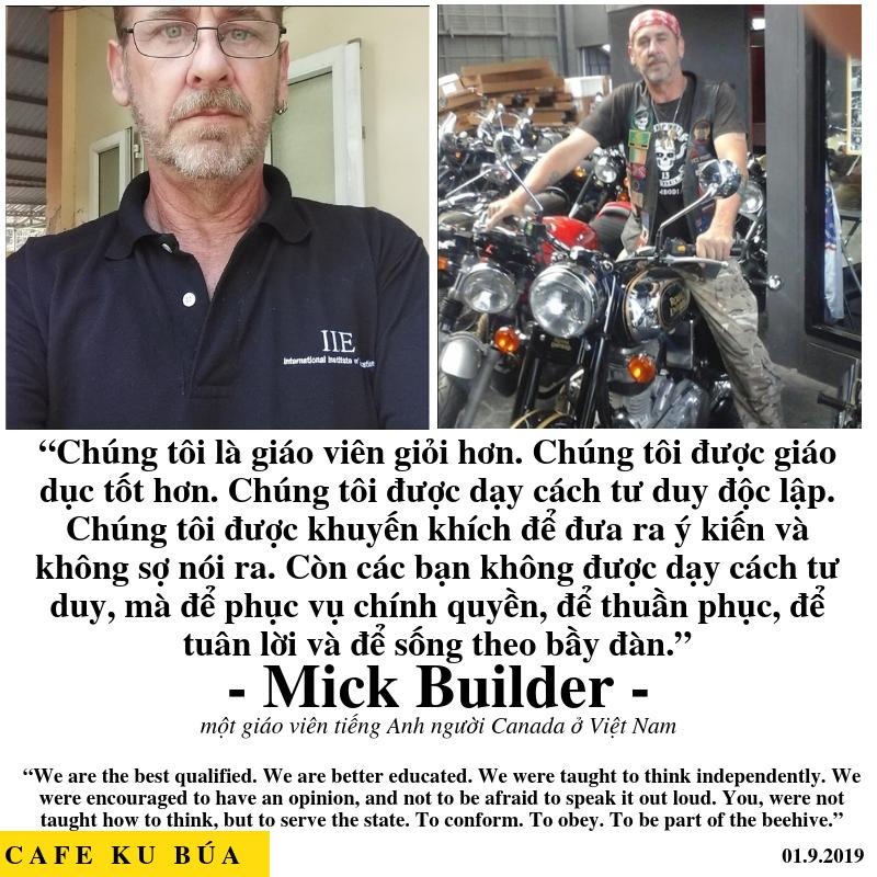 TƯ DUY NGƯỜI VIỆT NAM VS TÂY – MICK BUILDER