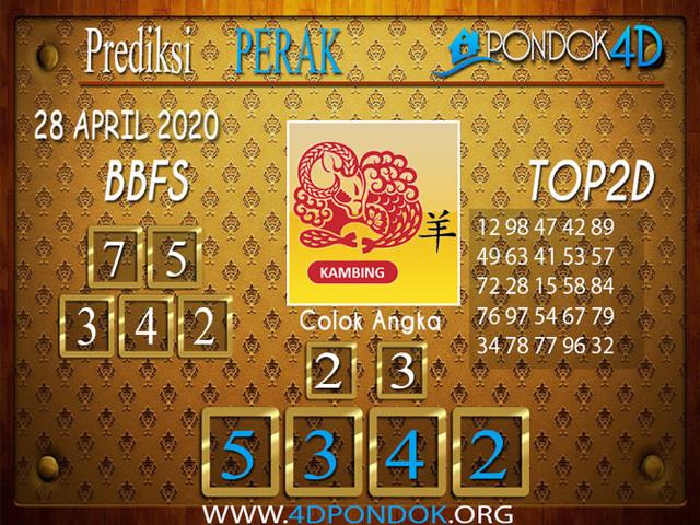 Prediksi Togel PERAK PONDOK4D 28 APRIL 2020