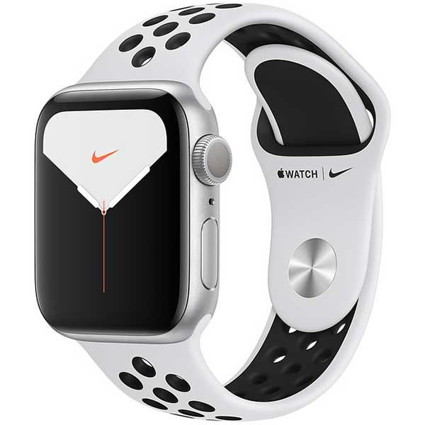 Apple Watch Nike Series 5 44 mm argento