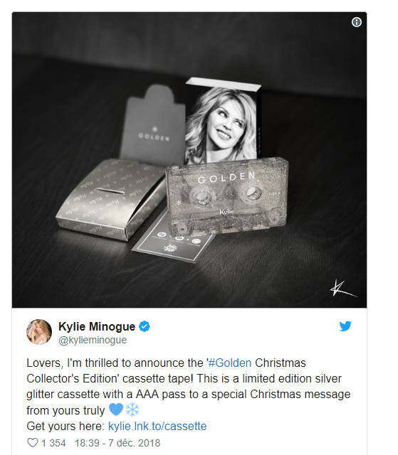 Kylie Minogue .... icône Pop Made in Australie Kylie