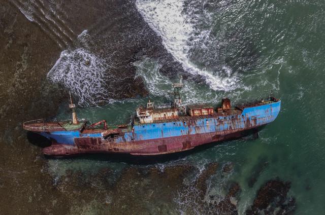 antarafoto-monumen-kapal-mv-viking-ilegal-fishing-230819-adb-3