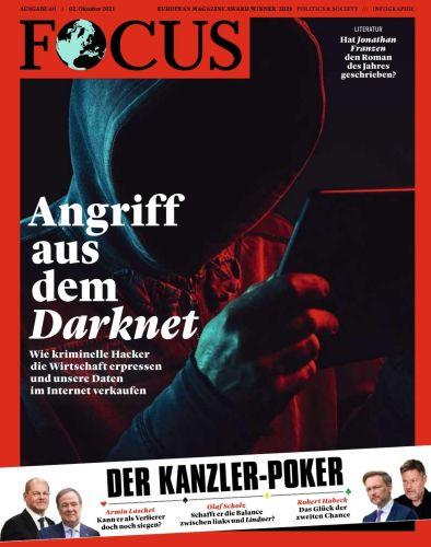 Cover: Focus Nachrichtenmagazin No 40 vom 02  Oktober 2021