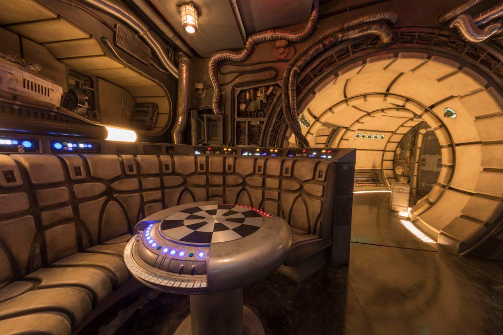 Star Wars Land Millennium Falcon Ride