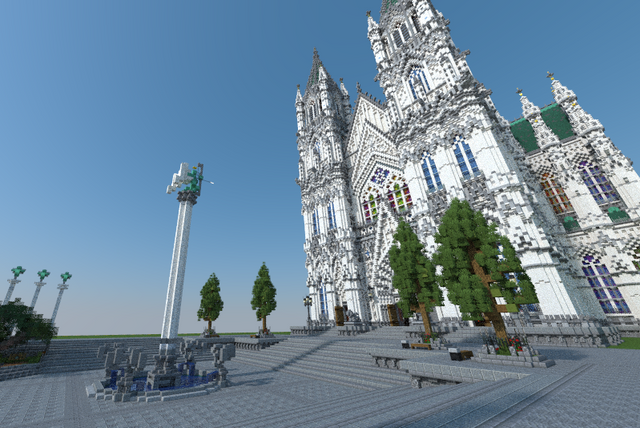 ✣  Classic Cathedral  ✣ Minecraft Map