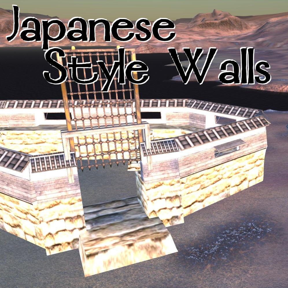 Japanese Style Walls / Стены в японском стиле!