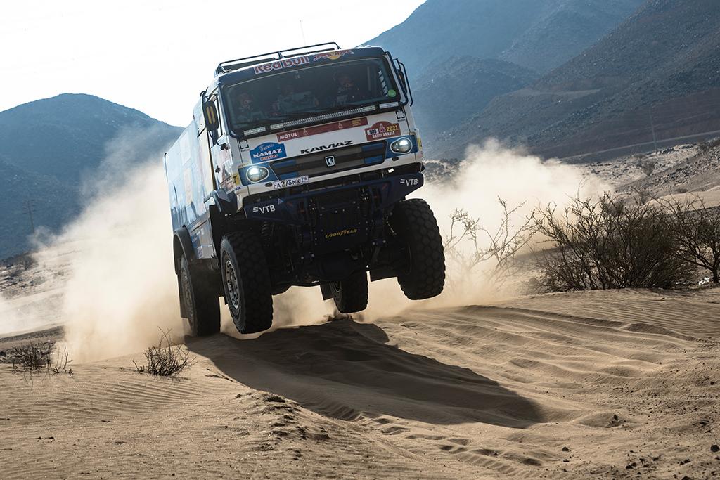 Airat-Mardeev-RUS-of-Team-KAMAZ-Master-trains-during-the-shakedown-prior-Rally-Dakar2021-close-to-Je