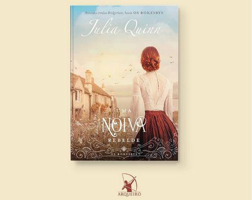 Revelado a capa do 4° volume da série Os Rokesbys, da autora Julia Quinn