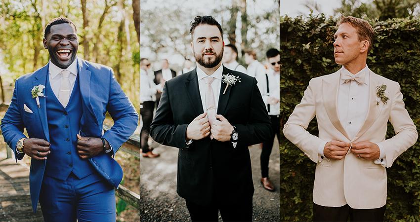 Linen Beach Wedding Attire for Men and Boys