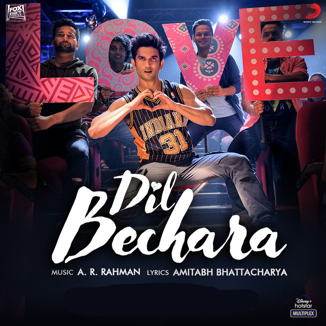 Dil Bechara (Title Track) 2020 Hindi Video Song 1080p HDRip Download