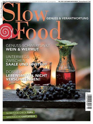 Cover: Slow Food Magazin Oktober-November No 05 2021