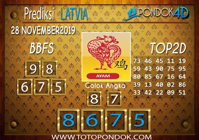 Prediksi Togel LATVIA POOLS PONDOK4D 28 NOVEMBER 2019