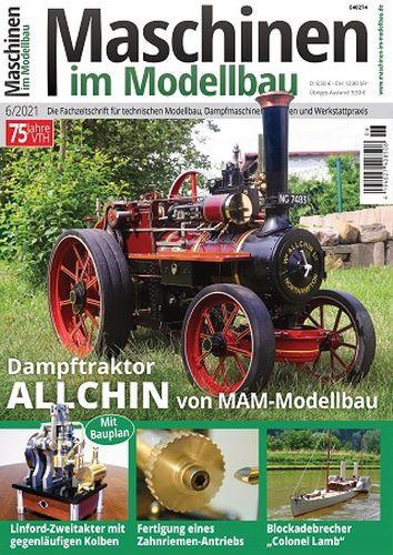 Cover: Maschinen im Modellbau Magazin No 06 2021