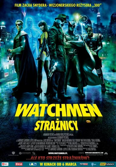 Watchmen. Strażnicy / Watchmen (2009) PL.BRRip.XviD-GR4PE | Lektor PL